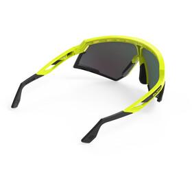 Rudy Project Defender Okulary rowerowe, yellow fluo - rp optics multilaser orange